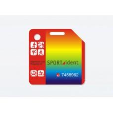 Чип-карточка SI-pCard (20 отметок, печать изображения клиента с 2 сторон, без крепления)